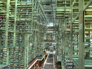 The interior of the José Vasconcelos Library / Eneas De Troya. CC BY 2.0