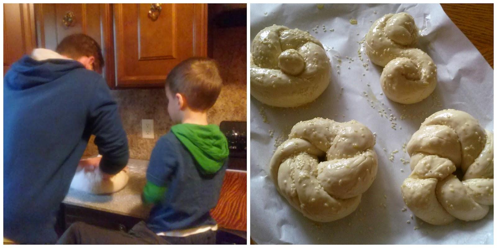 Making Bread  l  Thanksgiving in the Mitten  l  Love.Bake.Read