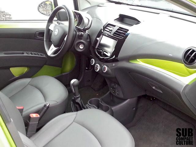 Chevrolet Spark 2LT interior