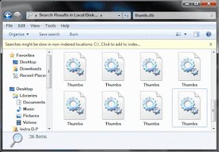 Pengertian File Thumbs.db Dan Desktop.ini Di Windows Beserta Fungsinya