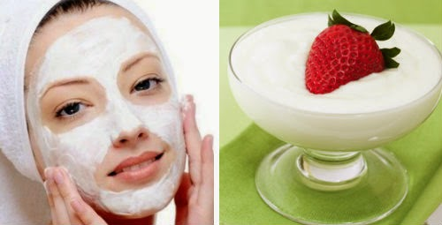 yogurt contra el acne