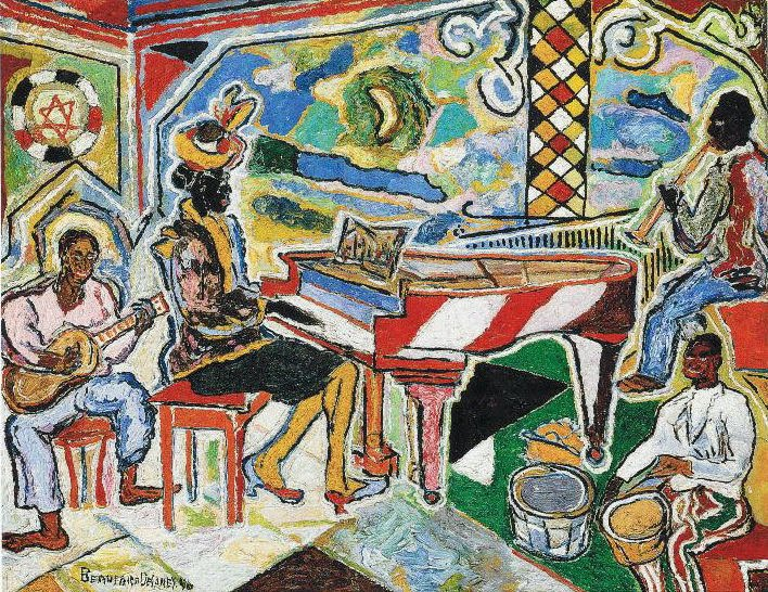 Les Amis De Beauford Delaney Jazz Concert In The Old New