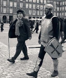 Maschere a Madrid (foto M. Passamano)