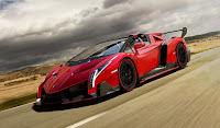 Lamborghini Veneno Roadster HD Resimleri