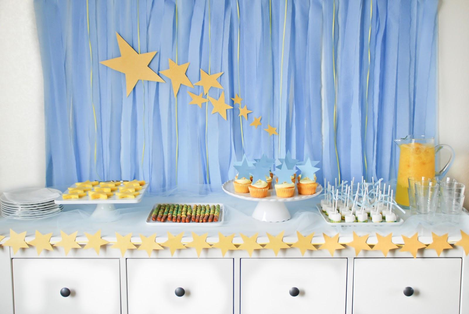Stars Theme Stars Parties Baby Shower Theme Baby Shower