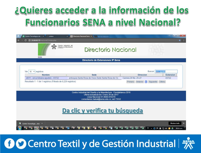DIRECTORIO NACIONAL DE IP
