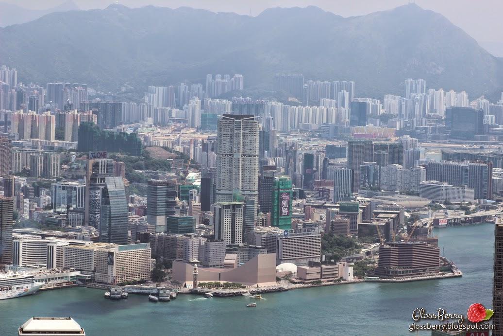 hong kong from victoria's peek ויקטוריה הונג קונג מבט מלמעלה