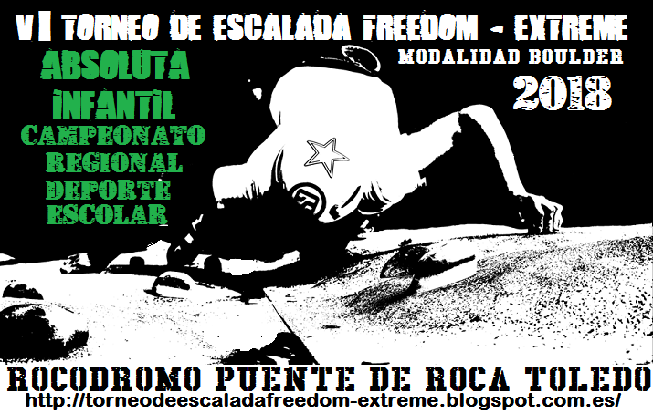 TORNEO DE ESCALADA FREEDOM-EXTREME 2018