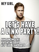 I am all for fun and when I saw this announcement for a 'Hey Girl Valentine .