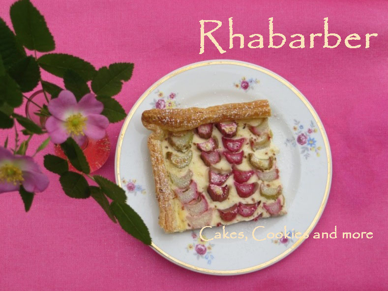 Rhabarber - Wähe; Rezept - Cakes, Cookies and more