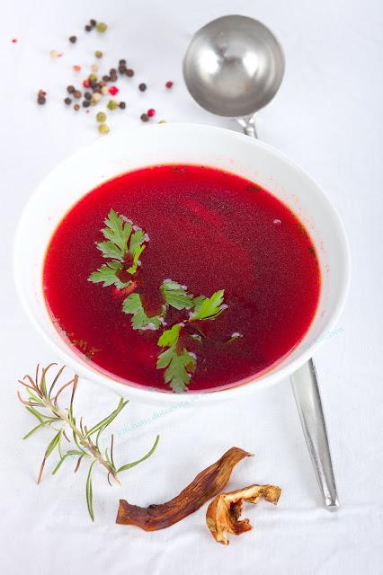 Rote- Bete-Suppe. Edyta Guhl.