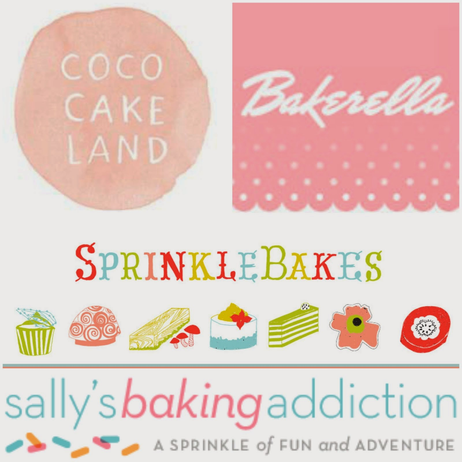 Favourite Baking Blogs and Websites