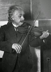Albert Einstein: amour de la musique