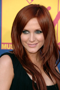 Black Hair Styles: Red Hair With Blonde Highlights 2011
