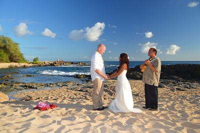 Norway Couple Married in Hawaii