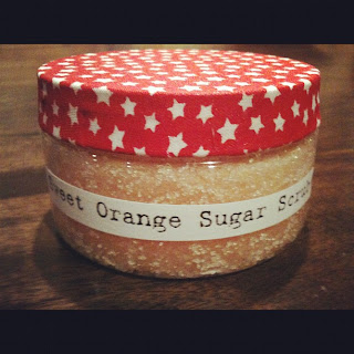 homemade sweet orange sugar scrub recipe