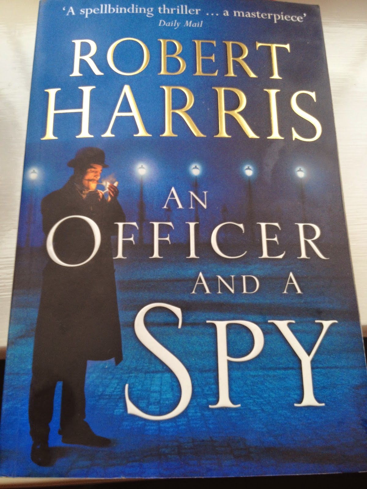 Robert Harris An Officer and a Spy cover