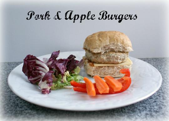 Recipe pork and apple burgers - Good pork recipes