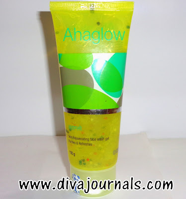 AHA Glow Face Wash Review