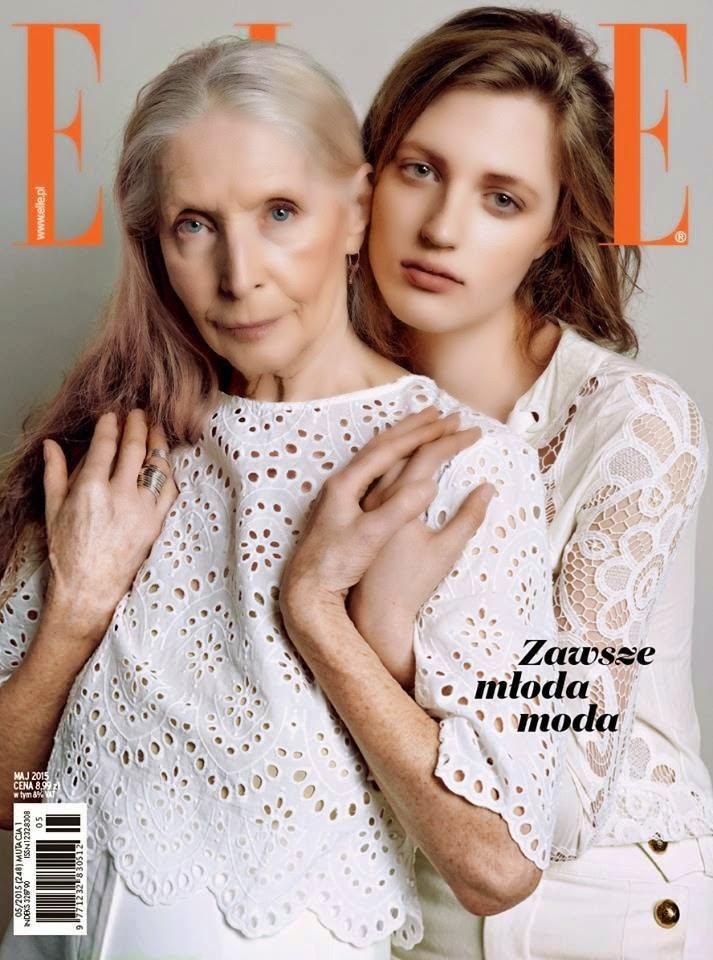Actress,  Model @ Helena Norowicz & Julia Banas by Bartek Wieczorek for Elle Poland