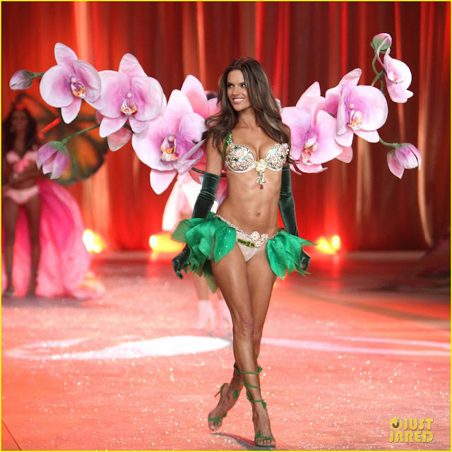 Alessandra Ambrosio Victoria's Secret Fashion Show Runway in NewYork 7 November 2012