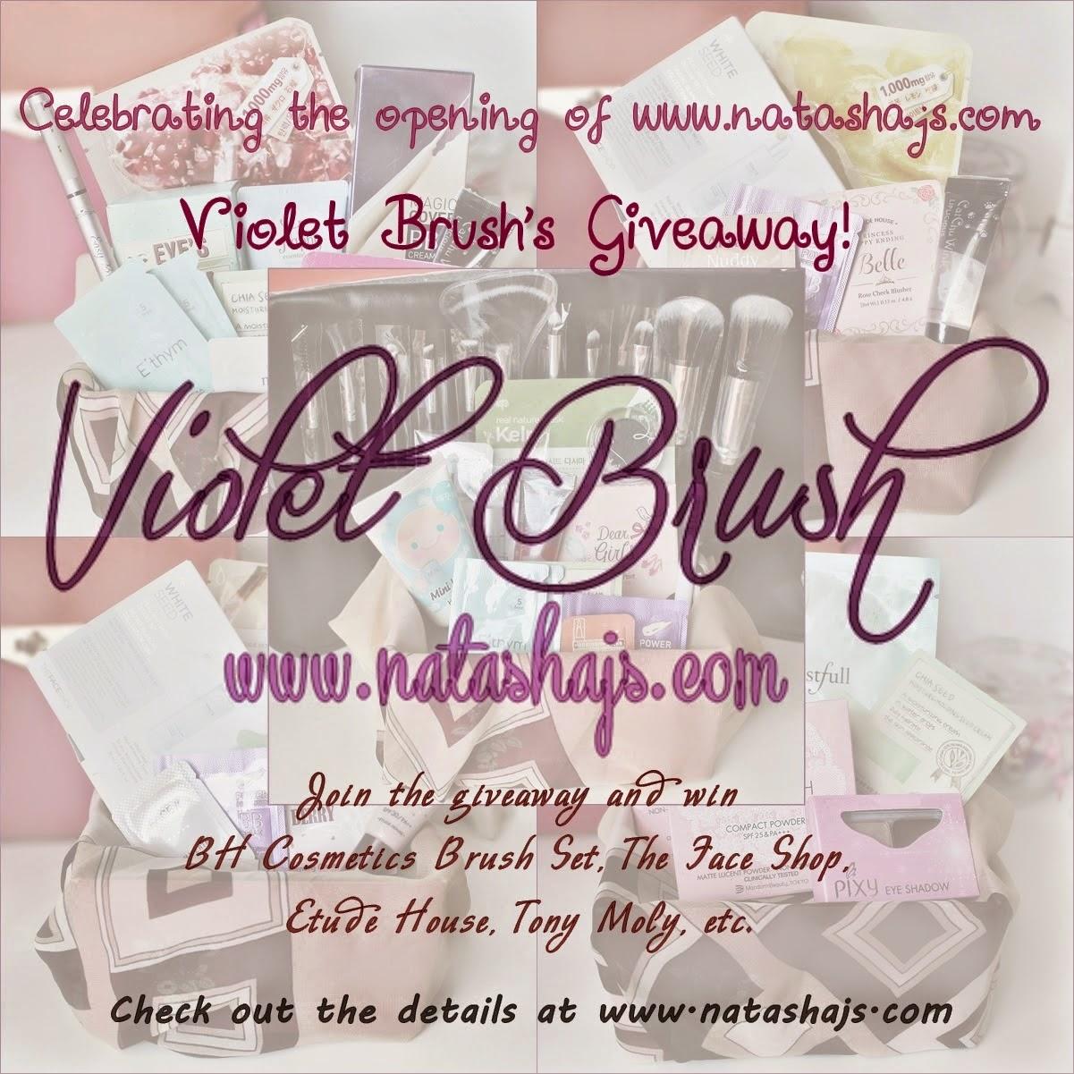 Violet Brush by NJS