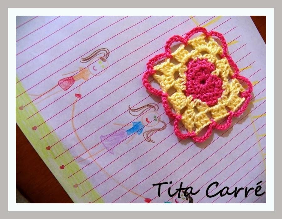 Crochet com amor de mãe de Quintana para filha