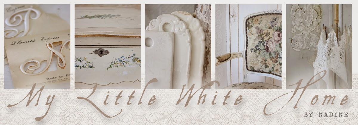 My Little White Home by Nadine