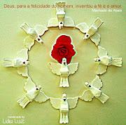 Fé e amor! Feliz semana a todos! Amor, Paz e Luz! (fã© amor)