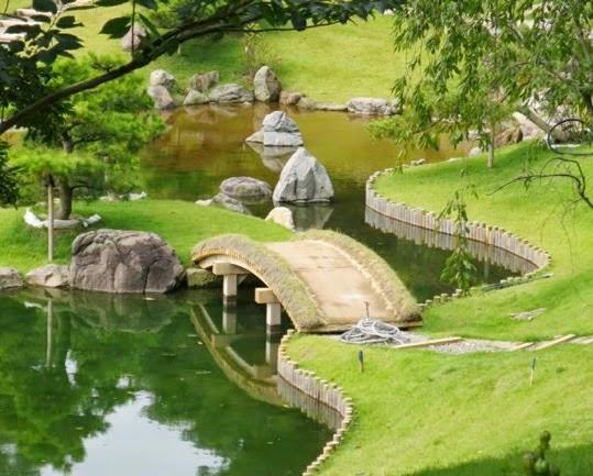 Il paradiso non pu attendere futuro giardino a kanazawa for Laghetto giapponese