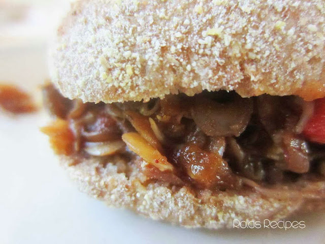 "Sprouted Lentil ""Sloppy Joes"" by Raia's Recipes"