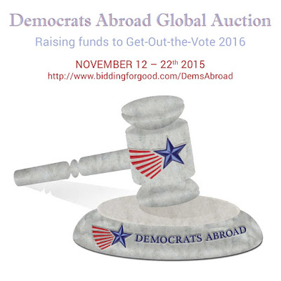 Democrats Abroad Global Auction - biddingforgood.com/demsabroad