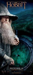 the hobbit gandalf banner poster