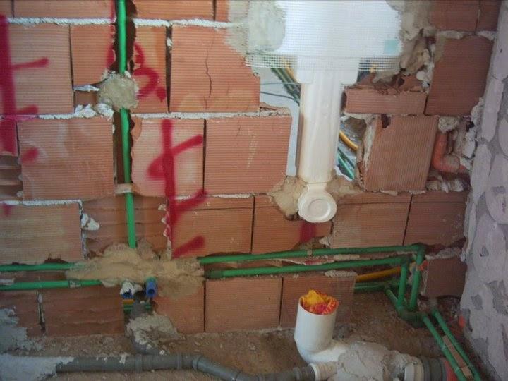Il Blog dell\'idraulico: Tubo polipropilene verde a saldare Bagno sospeso