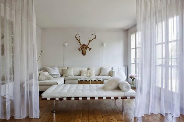 Aprende a dividir ambientes de madera moderna y vers til - Cortinas separadoras de ambientes ...