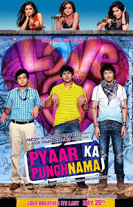 Poster Of Bollywood Movie Pyaar Ka Punchnama (2011) 300MB Compressed Small Size Pc Movie Free Download Downloadingzoo.com