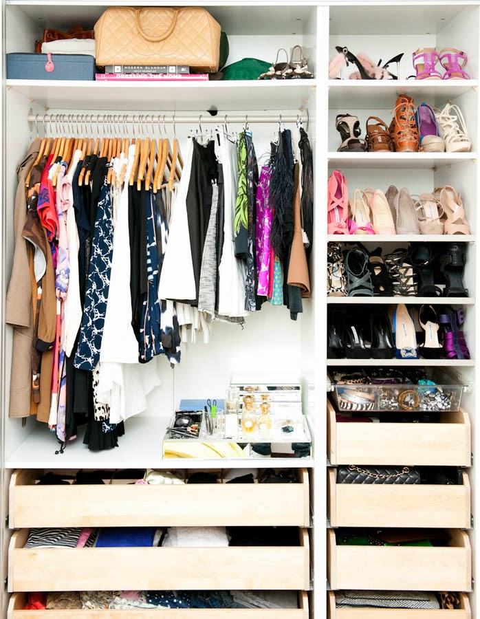 Closet organizers for ladys