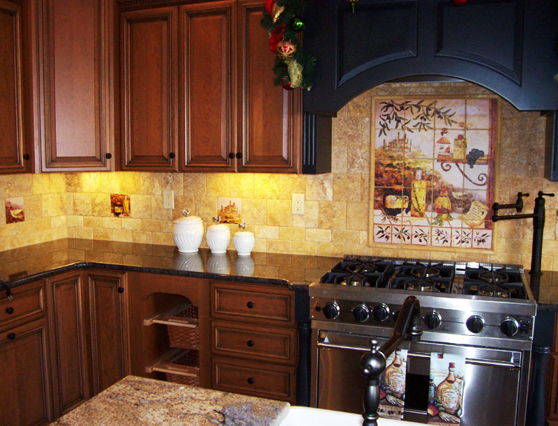Tuscan Kitchen Design Images (11 Image)