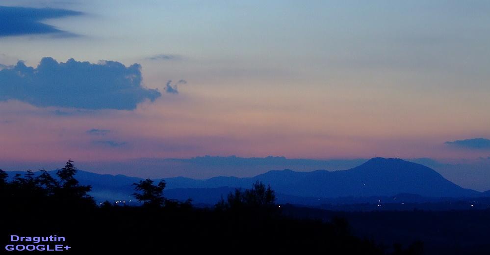 Dragačevo i planina Ovčar u daljini