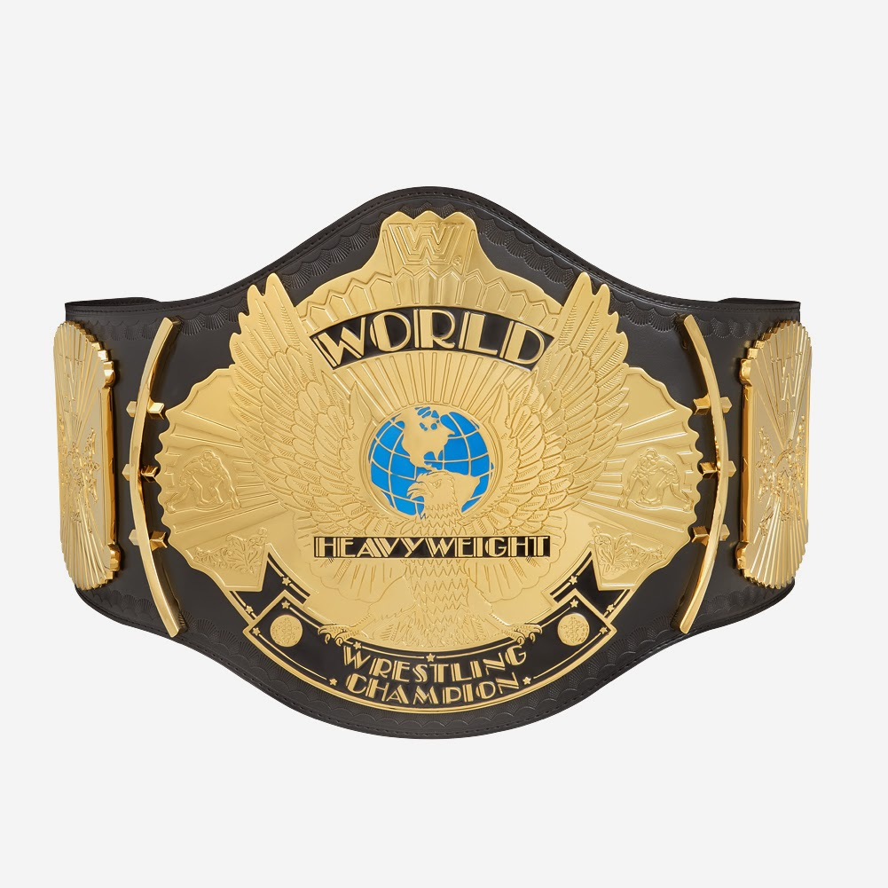 old WWF eagle championship title belt replica