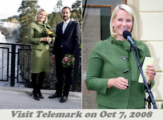 Queen Sonja and Princess Mette-Marit attend the TUR conference