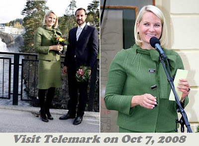 Princess Mette-Marit visits Telemark