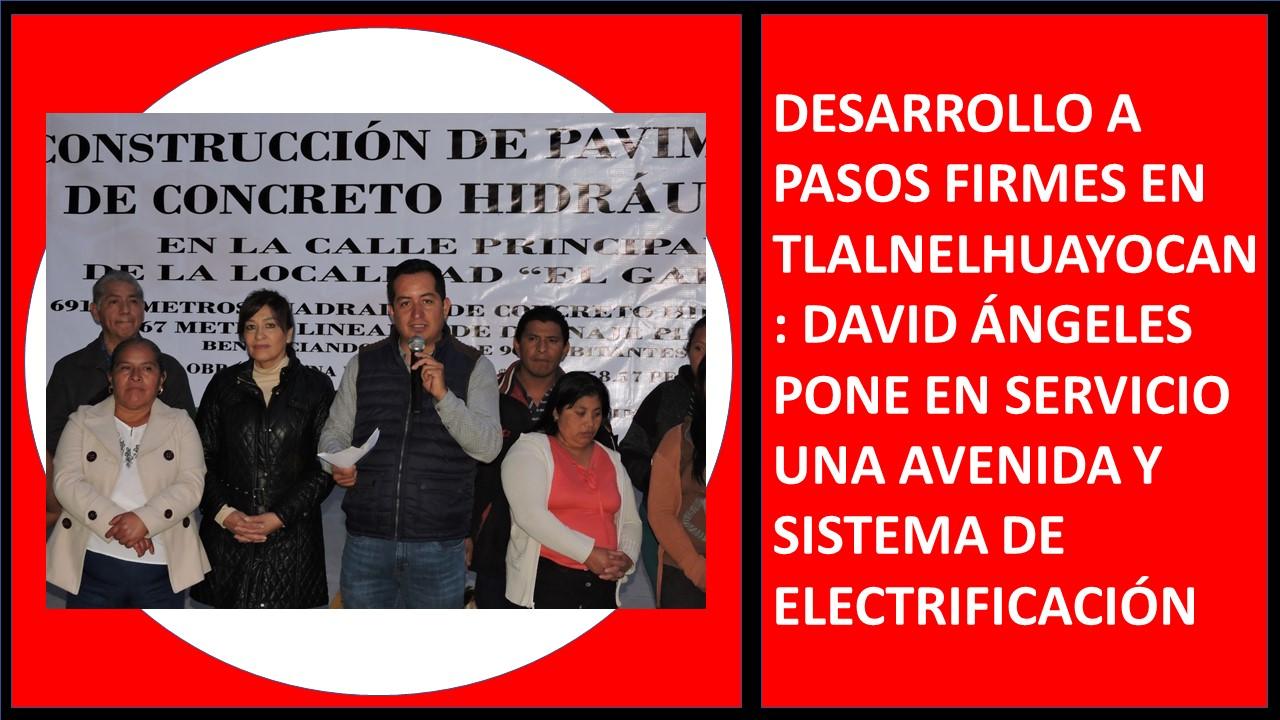 AVENIDA Y SISTEMA DE ELECTRIFICACIÓN