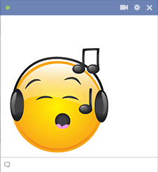 Facebook Smiley Sings