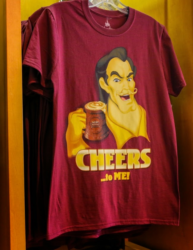 Gaston T-Shirt Cheers to me