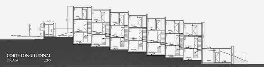 Condominium House Plans - 46m2 House Plans - Box House side view