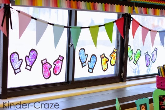 "ADORABLE ""stained glass"" window decorations made with tissue paper"