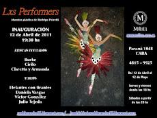 Lxs Performers - muestra plástica 2011