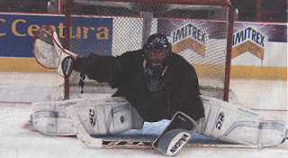 ian sands hockey goalie at RBC