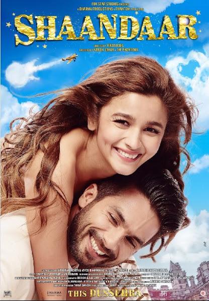 Poster of Shaandaar 2015 720p BRRip Hindi with English Subtitle